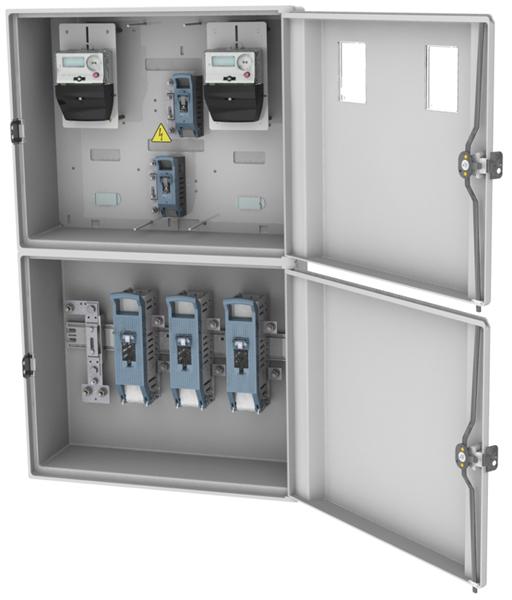 Caja Empotrar Proteccion Medidor Cpm3 D2 2 Cs Rovia