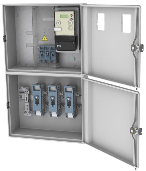 Caja Empotrar Proteccion Medidor Cpm3 D E4 3 Cs Rovia