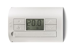 FINDER 1T3190030100 TERMOSTATO PARED ELECTRONICO BLANCO CON PANTALLA DIGITAL