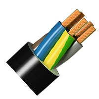 MIGUELEZ 81764 CABLE BARRYFLEX RV-K 0,6 1/KV 5G1,5mm2